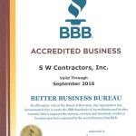 BBB Accredited Business - S.W. Contractors, Inc.