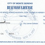 City of Monte Sereno - Business License