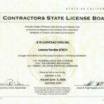 2020 CA State License